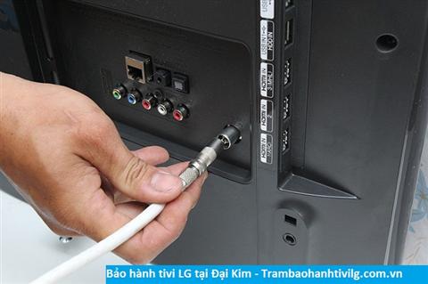 Bảo hành sửa chữa tivi Lg tại Đại Kim