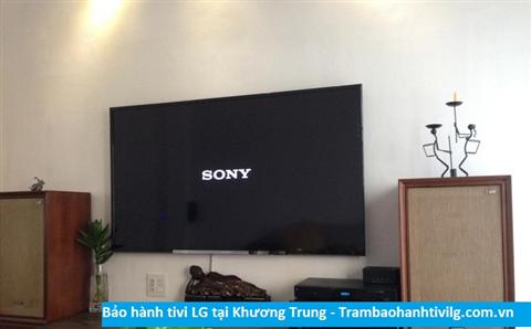 Bảo hành sửa chữa tivi LG tại Khương Trung