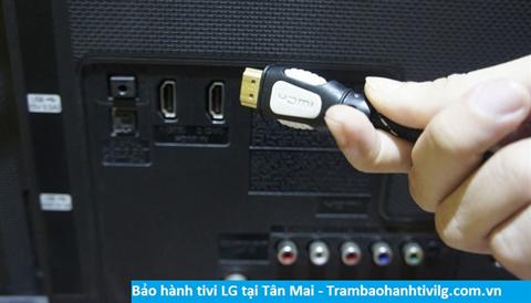 Bảo hành sửa chữa tivi Lg tại Tân Mai