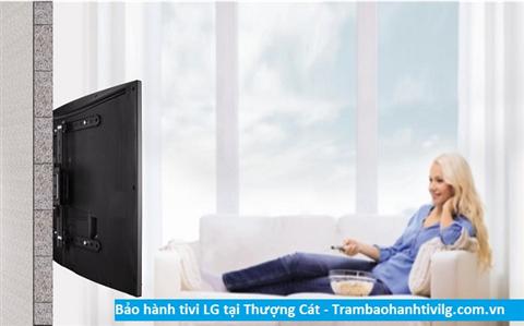 Bảo hành sửa chữa tivi LG tại Thượng Cát